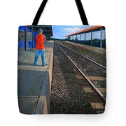 The Distance Of Solitude Tote Bag