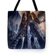 The Dragon Gate Tote Bag