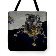 The Eagle Has Wings Tote Bag