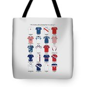 The Evolution Of The Us World Cup Soccer Jersey Tote Bag