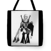 The Face Eater - Artwork Tote Bag by Ryan Nieves