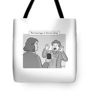 The Faceapp Of Dorian Gray Tote Bag
