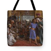 The Finding Of The Savior At The Temple Tote Bag
