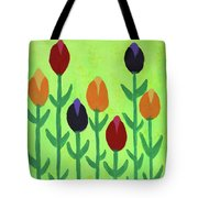 The First Sign Of Spring Tote Bag by Deborah Boyd