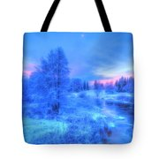 The First Snow 2 Tote Bag