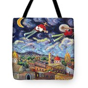 The Flying Mariachis Tote Bag