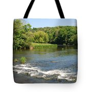 the ford at Etal on river Till Tote Bag