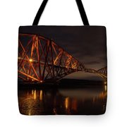 The Forth Bridge Tote Bag by Ross G Strachan