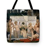 The Fountain Of Youth Tote Bag