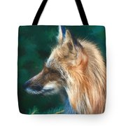 The Fox 235 - Painting Tote Bag