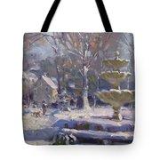 The Frozen Fountain Tote Bag