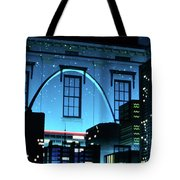The Gateway Arch And The City Tote Bag