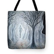 The Ghost Of A Loved One Tote Bag