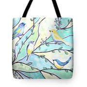 The Glass Birds Tote Bag
