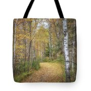 The Golden Path Tote Bag by Susan Rissi Tregoning