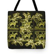 The Golden Race Tote Bag
