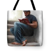The Good Book Tote Bag by Dwayne Glapion