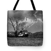 The Great White North Strong And Free Tote Bag