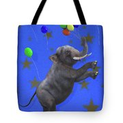 The Happiest Elephant Tote Bag