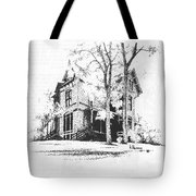 The Hauser Mansion, Helena, Montana Tote Bag