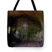 The Hermit's Cross Tote Bag