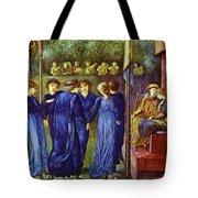 The King Wedding 1870 Tote Bag