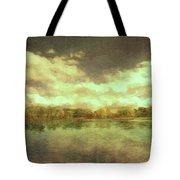 The Lake - Panorama Tote Bag
