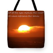 The Light Of The Eyes Tote Bag
