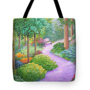 The Lilac Path - Rest Awhile Tote Bag
