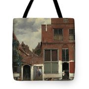 The Little Street, 1658 Tote Bag