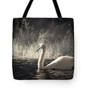 The Lone Swan 3 Tote Bag by Brian Hale