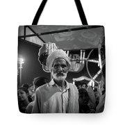 The Many Shades Of Delhi - Turbaned Man Tote Bag
