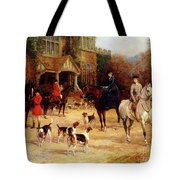 The Meet By Heywood Hardy Tote Bag