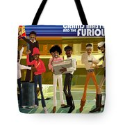 The Message Tote Bag by Nelson  Dedos Garcia
