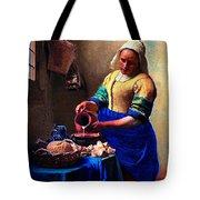 The Milk Maid Tote Bag
