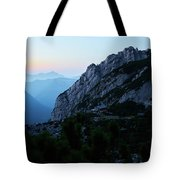 The Mountain Hut Tote Bag