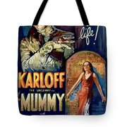 The Mummy 1932 Film Tote Bag