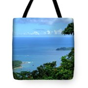 The North Bay As Seen From Mount Harriett Tote Bag