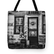 The Old Country Store Black And White Tote Bag
