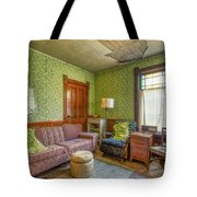 The Old Farmhouse Living Room Tote Bag