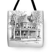 The Old Governors Mansion,  Helena, Montana Tote Bag