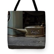 The Old Oil Can Tote Bag