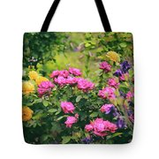 The Painted Garden Tote Bag