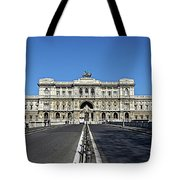 The Palace Of Justice, Rome, Italy Tote Bag