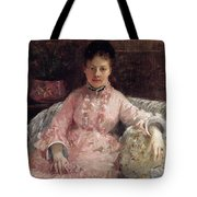 The Pink Dress Also Known As Poop - 1870 - Pc Tote Bag