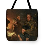 The Pipes By Firelight Tote Bag