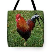 The Pose Of The Rooster Tote Bag