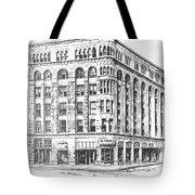 The Power Block Helena Montana Tote Bag