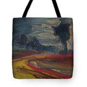 The Outer Light Breaks Tote Bag