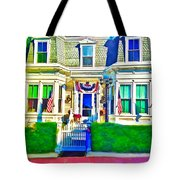 The Prince Albert Guesthouse-provincetown, Massachusetts  Tote Bag